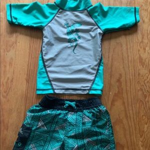 UV SKINZ 2 piece Swimsuit Outfit 12-18 Months